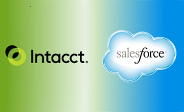 Salesforce Chatter in Intacct Core Accounting Software