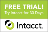 Intacct Free Trial