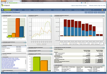 Intacct Cloud ERP Project Accounting